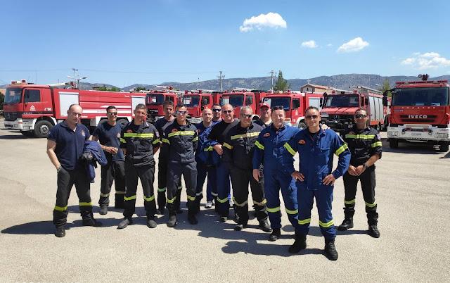 Πυροσβέστες της Αργολίδας ανέλαβαν καθήκοντα στο Μηχανοκίνητο Τμήμα του Πυροσβεστικού Σώματος