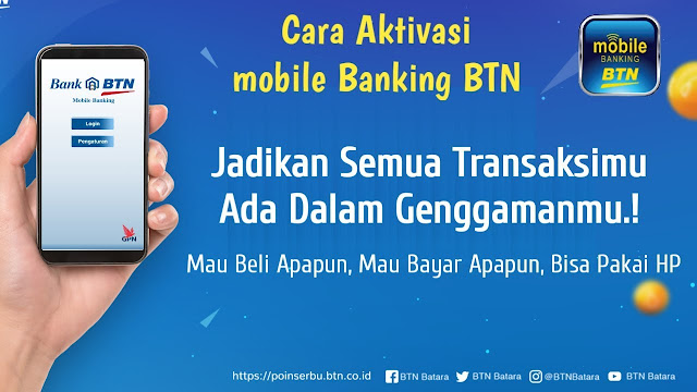 Pandemi Bikin Transaksi Mobile Banking BTN Tembus Rp10,638 Triliun