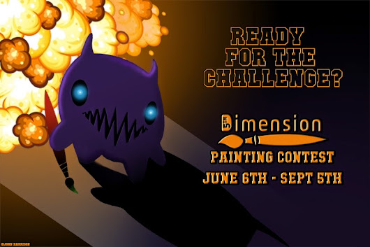 5th  Dimension: The 5th Dimension's First Painting Contest! Announcement and Rules!