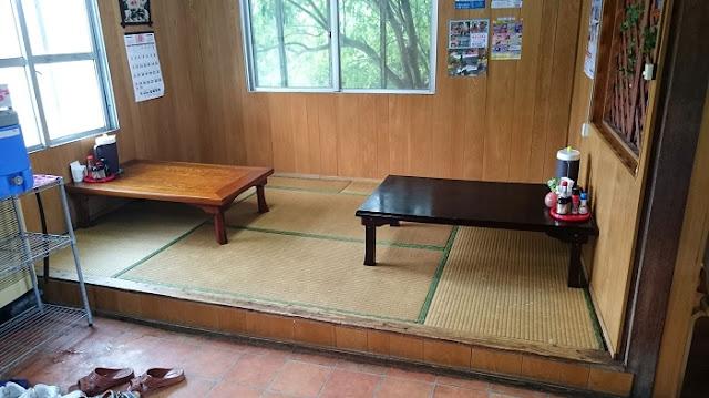 前田食堂の店内の写真