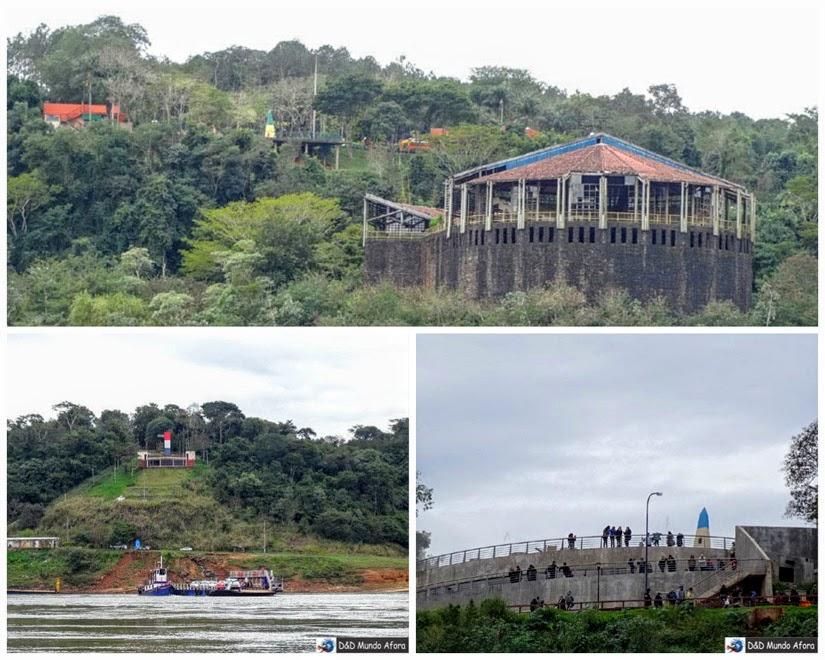 Marcos das Três Fronteiras Brasil,Paraguai e Argentina - Passeio Encontro das Águas, Foz do Iguaçu