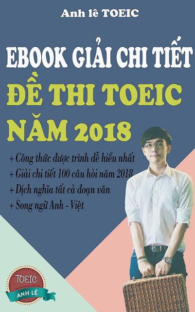 đề thi toeic 2018