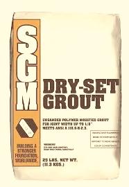 جراوت التطبيق الجاف Dry-Set Grout