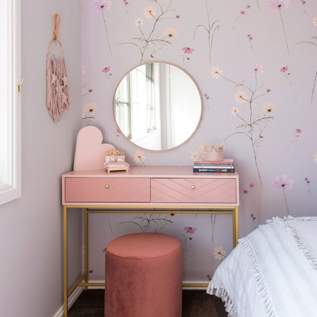 10 Ide Motif Wallpaper Dinding Kamar Tidur Sederhana Terbaru
