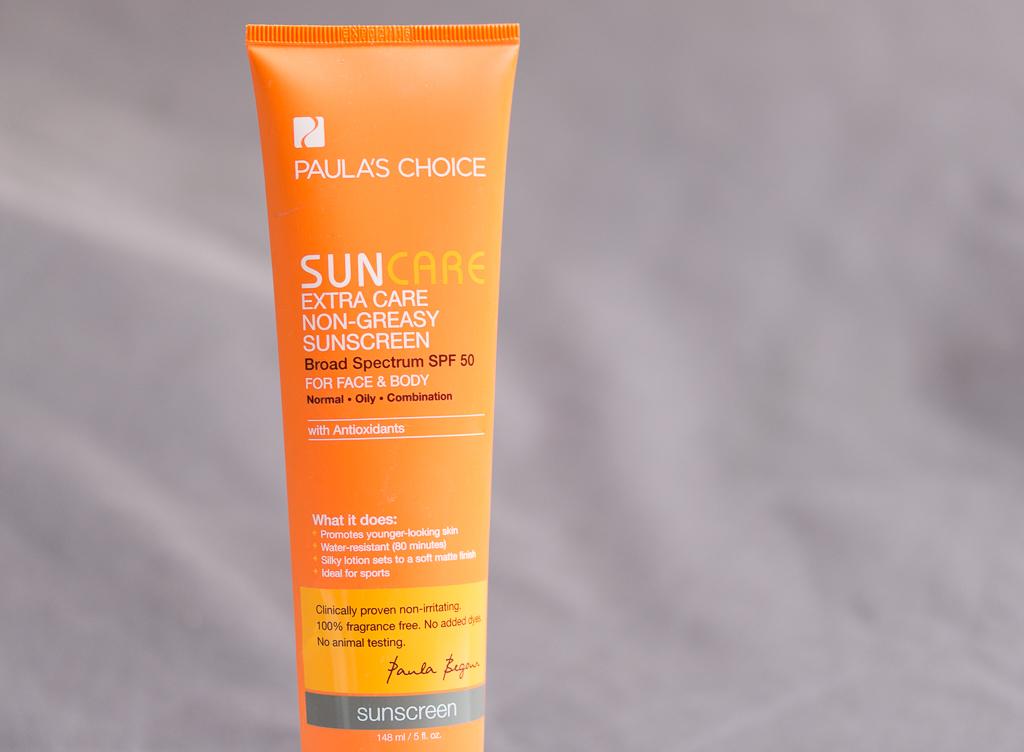Sonnenschutzcreme chemisch Paula's Choice Extra Care Non Greasy Sunscreen SPF 50 Vorderansicht