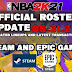 NBA 2K21 OFFICIAL ROSTER UPDATE 05.31.21 FOR STEAM AND EPIC