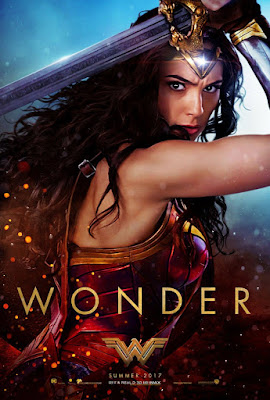 Wonder Woman Teaser Theatrical One Sheet Movie Poster