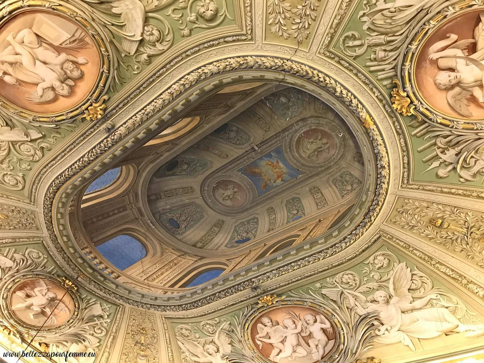 particolare soffitto - Roma Palazzo Doria Pamphilj