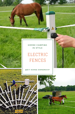How to Go Horse Camping - Where to Keep Your Horse - Electric Fences
