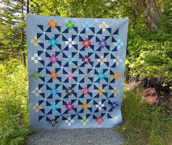 Pinwheel Garden quilt | DevotedQuilter.com