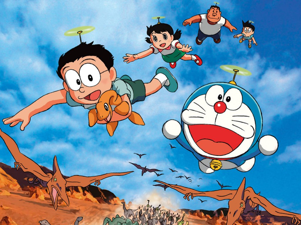 WALLPAPER ANDROID IPHONE Wallpaper Doraemon HD Keren