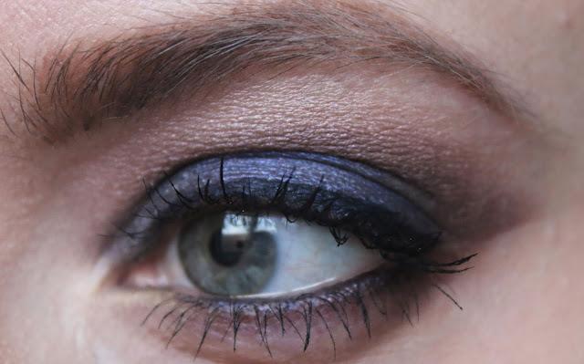 Яркий вечерний макияж глаз с палеткой Gwen Stefani