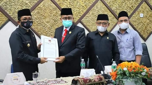 DPRD Kota Padang Sepakati KUA-PPAS APBD Tahun 2022
