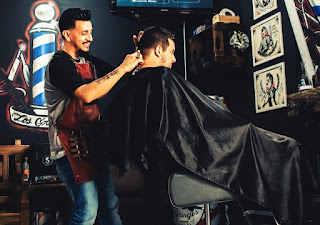 Sapne me baal katna, hair cutting image, sapne me baal