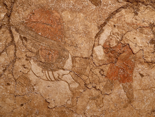 Tang Dynasty murals unearthed in China's Shaanxi