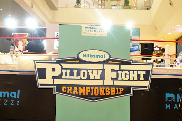 Nilkamal receives an exhilarating response for 'Pillow Fight Championship'