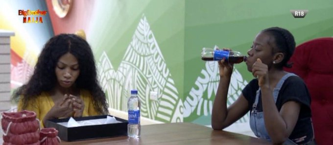 BBNaija: After Ike's Eviction, Mercy And Diane Make Surprise Confession