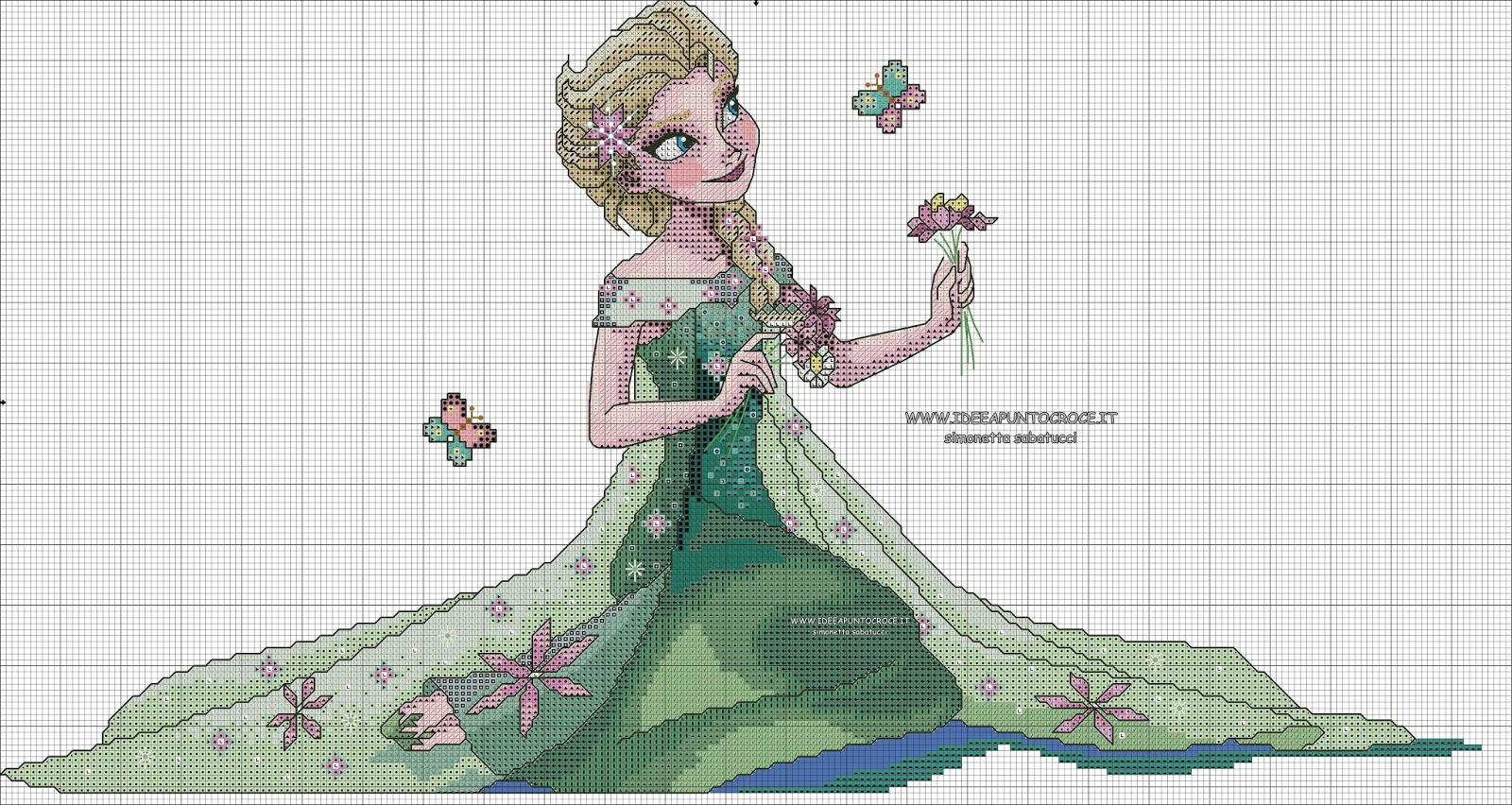 Elsa Frozen Crochet DollHandmade Crochet DollMini amigurumi (With ...   852x1600