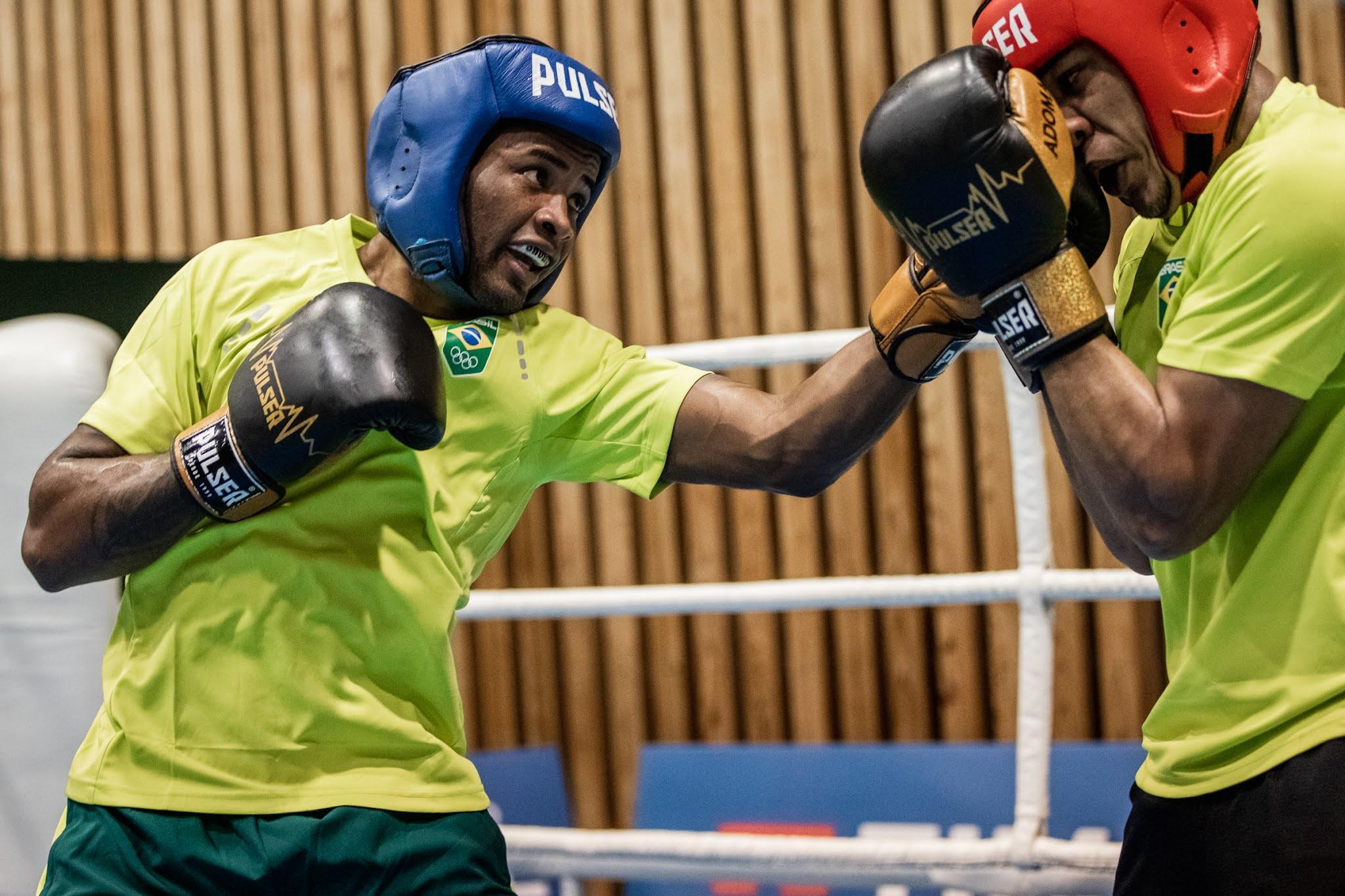 Wanderson de Oliveira, boxe do Brasil nas Olimpíadas de Tóquio