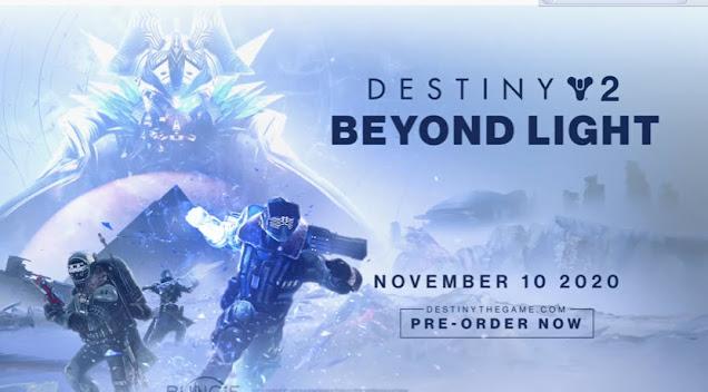 Logo of Destiny 2: Beyond Light