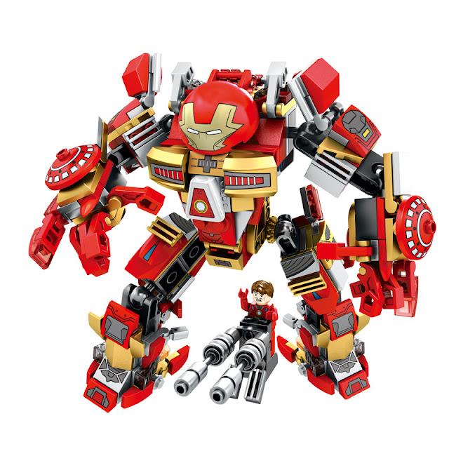 Lego Xếp Hình Siêu Anh Hùng Người Sắt Gồm 339 Chi Tiết