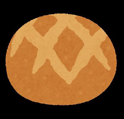 ブールのイラスト(パン)
