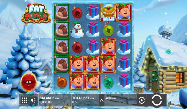 Main Gratis Slot Indonesia - Fat Santa Push Gaming