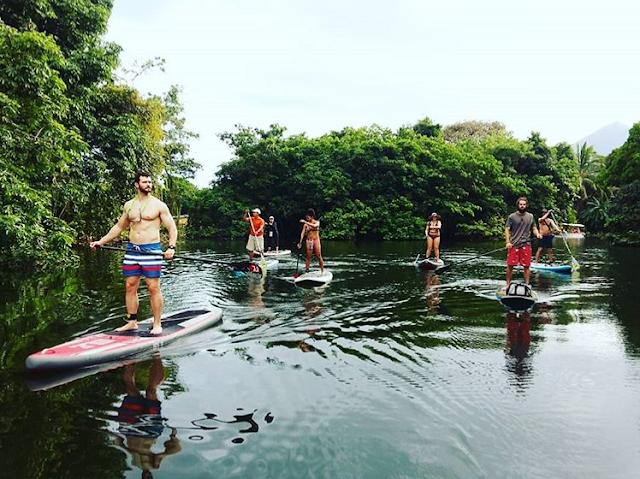 sup paddleboard nicaragua