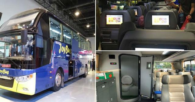 Parang Nasa Airplane! - Bus Biyaheng Baguio, May Own Movies kada Upuan, May Built-in Toilet at May Internet pa! | Trending Balita