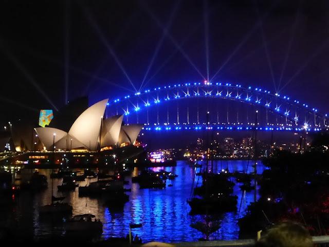 Nochevieja 2017 en el Edificio de la Ópera de Sydney