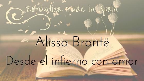 Autoras españolas de novela romántica_Alissa Brontë