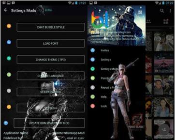 BBM Mod Point Blank Apk| BBM Whatsapp Mod v3.0.1.25