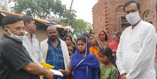 ज्ञानप्रकाश सिंह ने अनाथ बच्चों को भेजी आर्थिक मदद  | #NayaSaberaNetwork