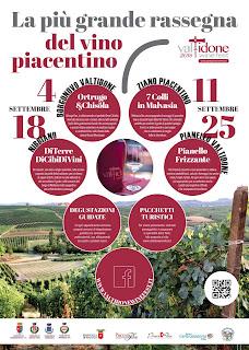 Valtidone Wine Fest 4-11-18-25 Settembre Valtidone (PC)