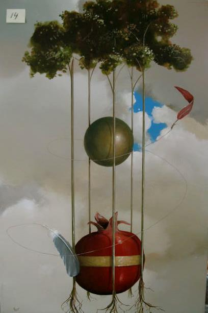 Jeff Faust 1952 | American surrealist painter