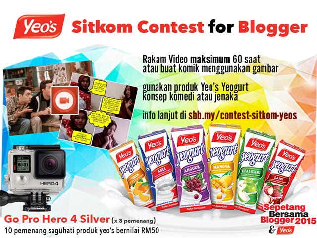 Yeo's Sitkom Contest For Blogger