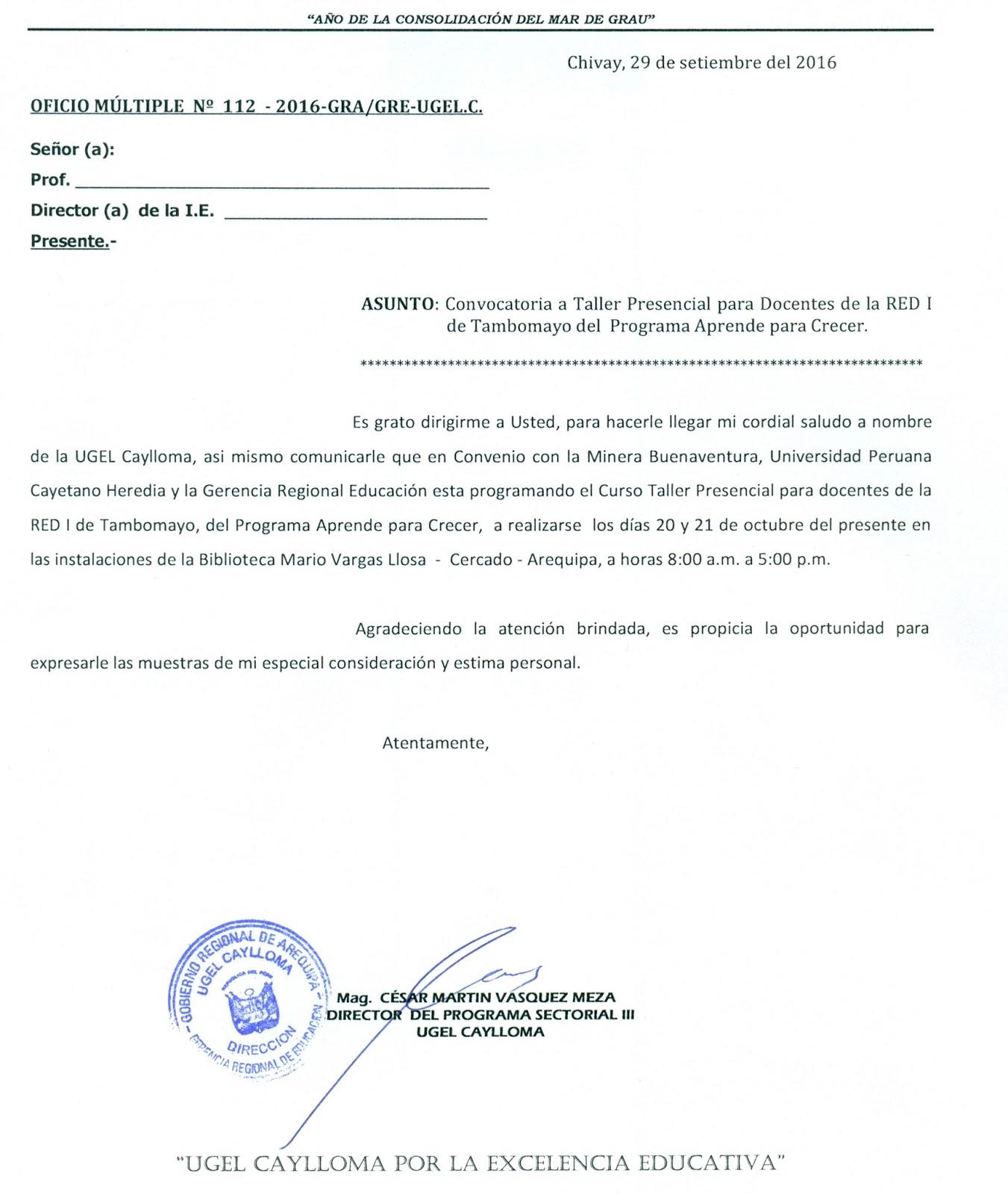 Convocatoria a taller presencial para docentes de la red i for Convocatoria de docentes 2016