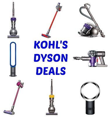 Kohl S Dyson Deals Vacuums Fans Heaters My Dfw Mommy