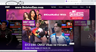 Voot App For PC Using Official Website