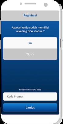 Cara buka rekening BCA di HP