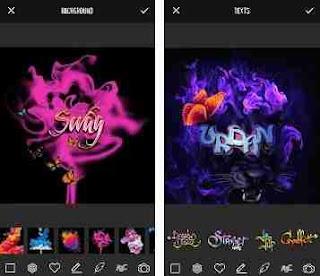 Aplikasi Edit Tulisan Grafiti