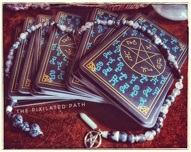 Foresight Friday divination reading using the Supernatural tarot.