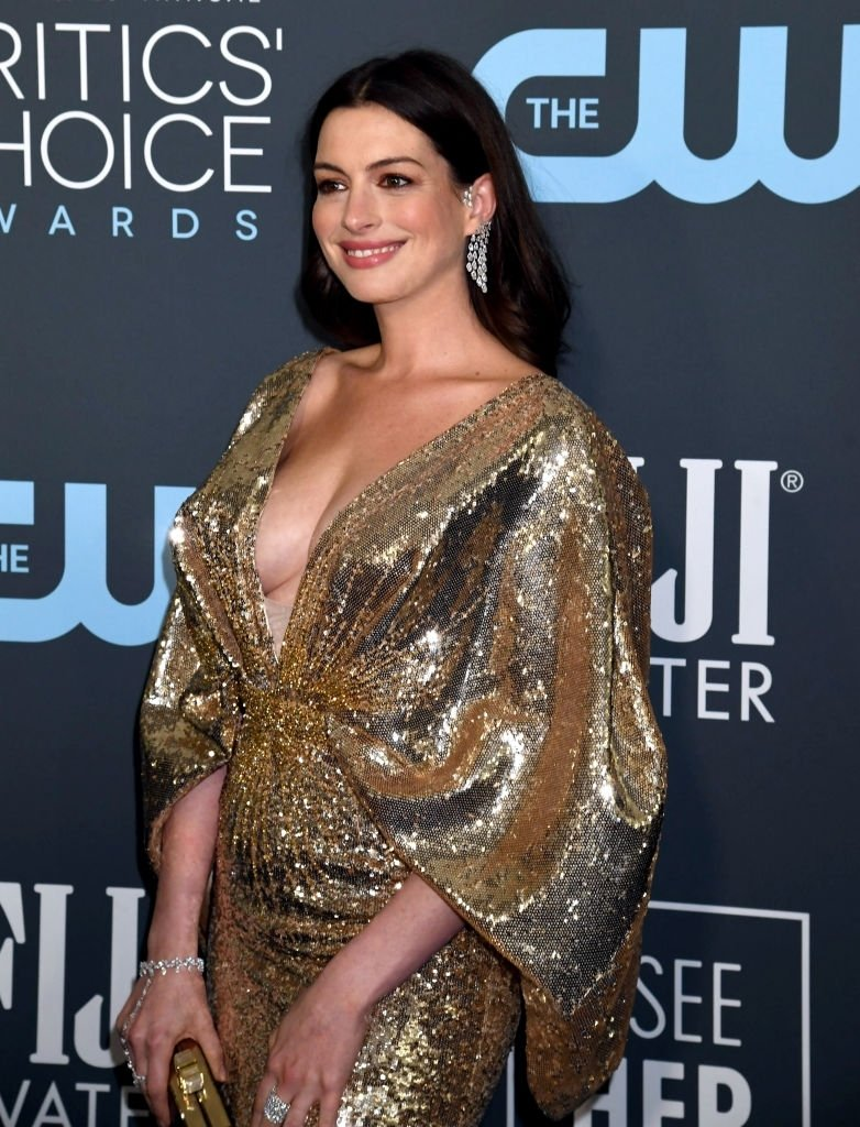 Anne Hathaway 2020 Critics' Choice Awards