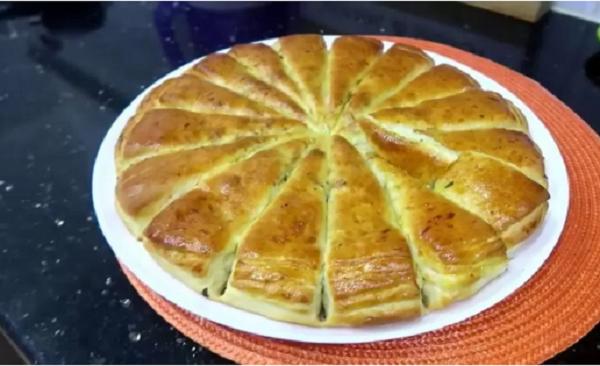 مطبخ ام وليد أسرع و اسهل خبزة مورقة بحشو سهل و عجينة خفيفة و رائعة