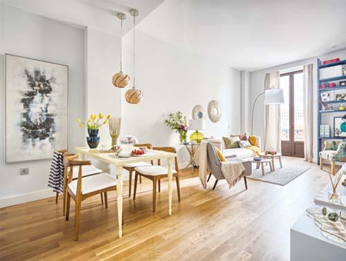 Malaga che mix arredamento facile for Zona pranzo design