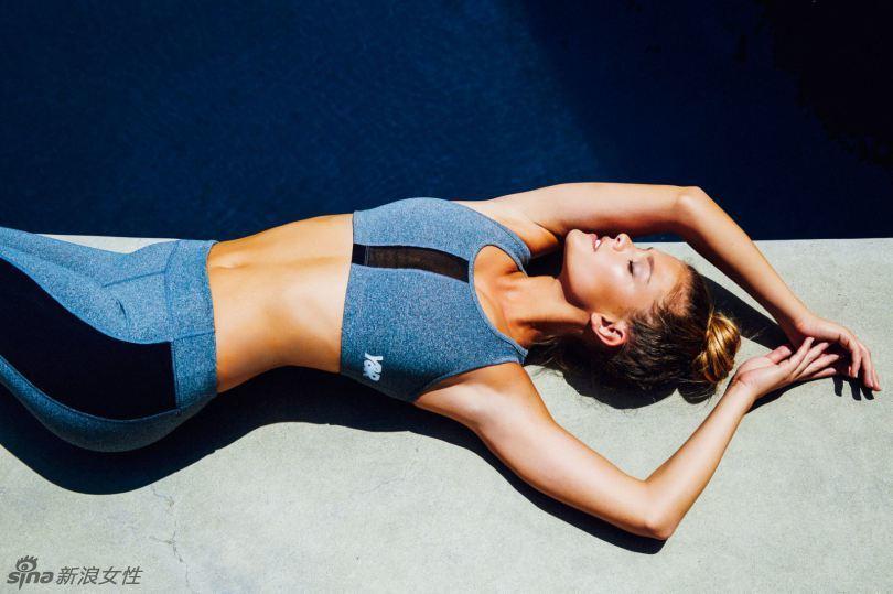 Danish Supermodel Nina Popular Sport Health Sport Wear Photo
