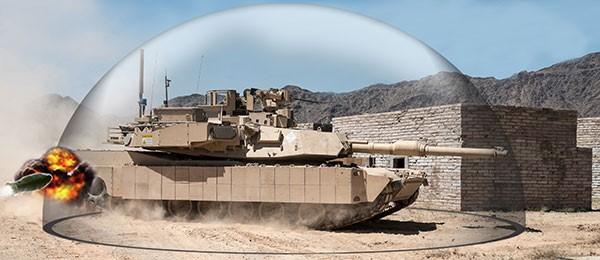 hệ thống phòng thủ Tank Trophy