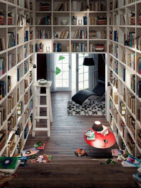 basement library ideas with book storage, turn your basement into a book library