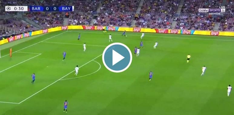 Barcelona vs Bayern München Live Score