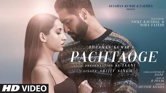 Pachtaoge Lyrics - Arijit Singh - Vicky Kaushal